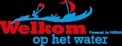 Welkom op het water logo